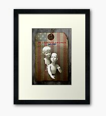 RANDom thoughts™: We've come to take our country back. Framed Print
