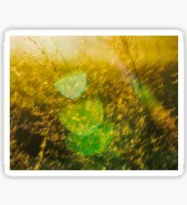 Golden Grass Sticker