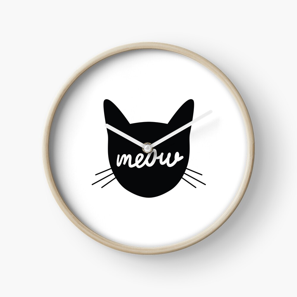 Meow! Clock