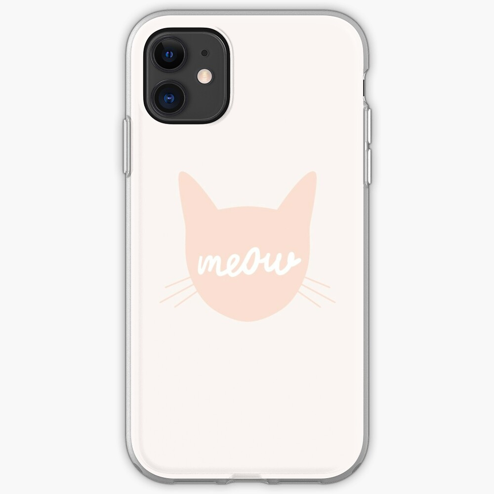Meow! iPhone Soft Case