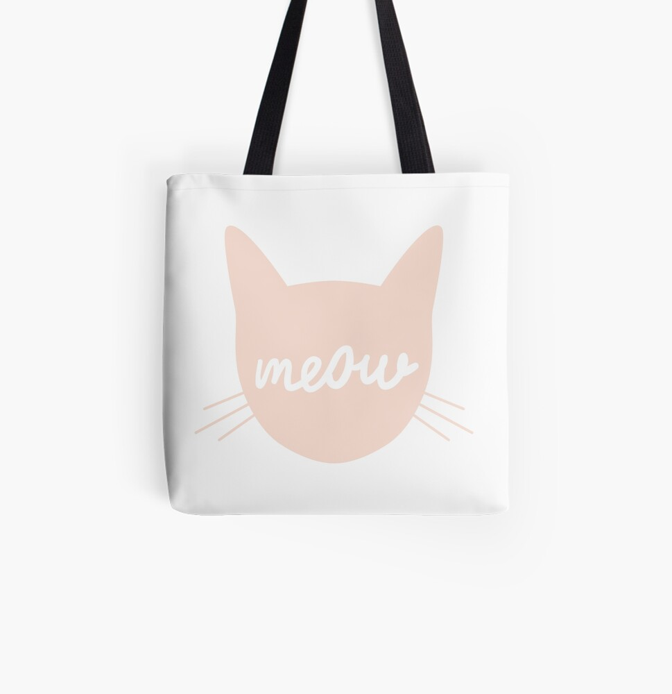 Meow! All Over Print Tote Bag
