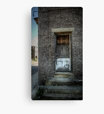 Folks Don't Come 'Round Here Much No More Canvas Print