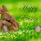 Happy Easter With Hugs by hurmerinta