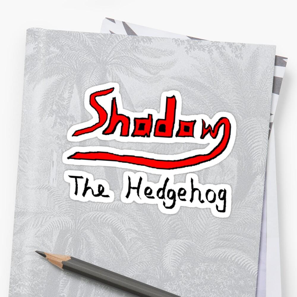 Shadow the Hedgehog Logo by Spyder761