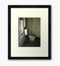 Out of Paper Framed Print