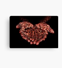 Hands Of Hope Fine Art Print Canvas Print