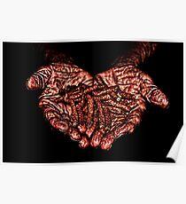 Hands Of Hope Fine Art Print Poster