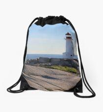 Peggy's Cove Drawstring Bag