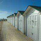 Eastbourne Beach Huts by Ian Elmes