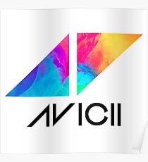 AVICII T-shirt Poster