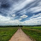 A Farm Road Just Outside Winchester by NeilAlderney