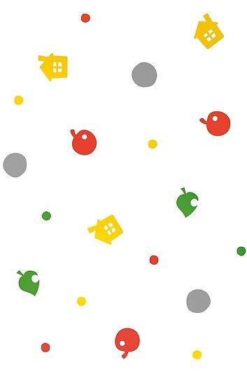 Animal Crossing neues Blatt - 3DS-Muster von Stoofie