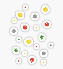 Animal Crossing New Leaf - 3DS Pattern  Sticker