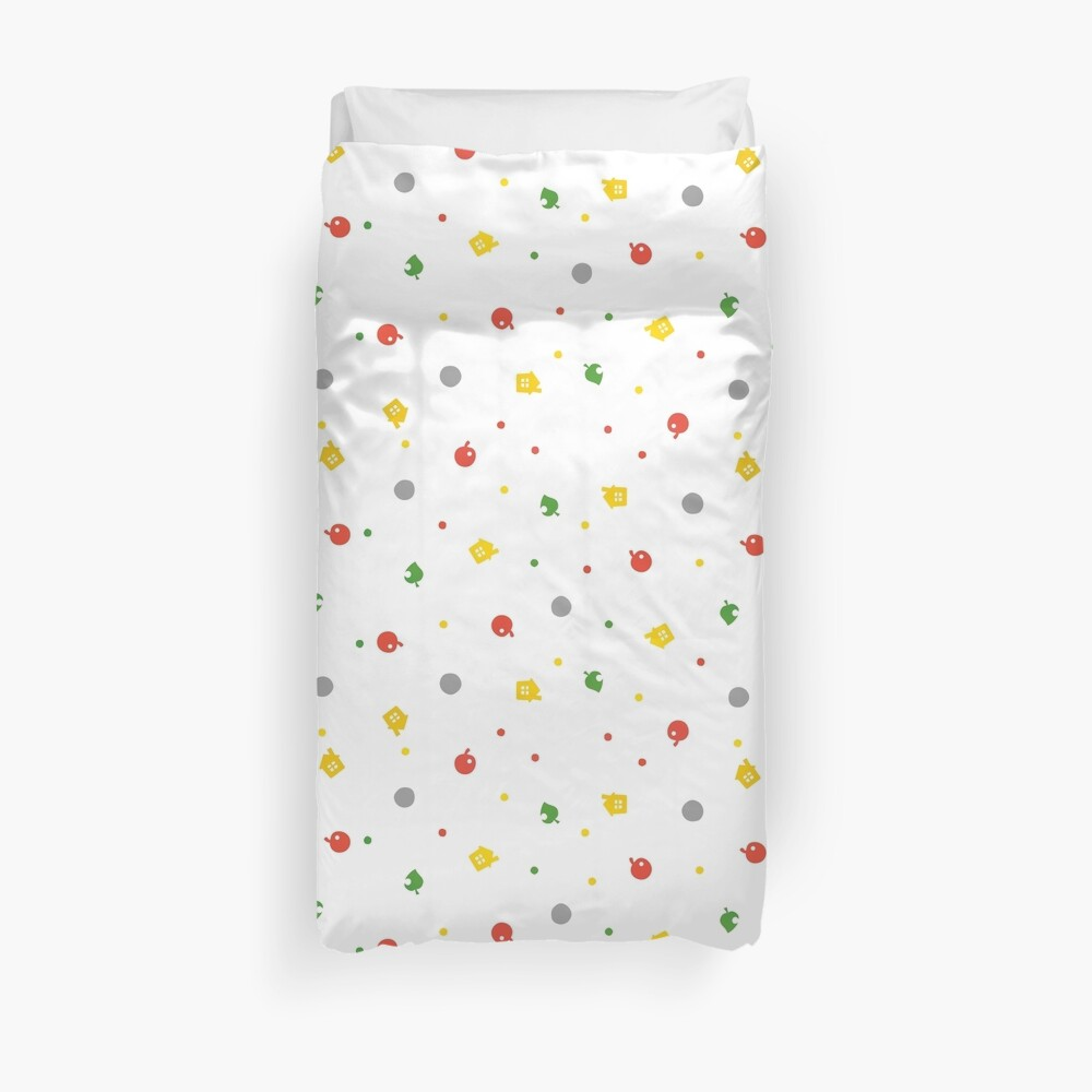 Quot Animal Crossing New Leaf 3ds Pattern Quot Duvet Cover By