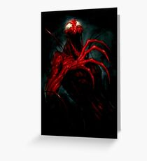 Carnage Greeting Card