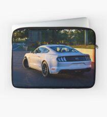 Mustang on Mt Panorama Laptop Sleeve