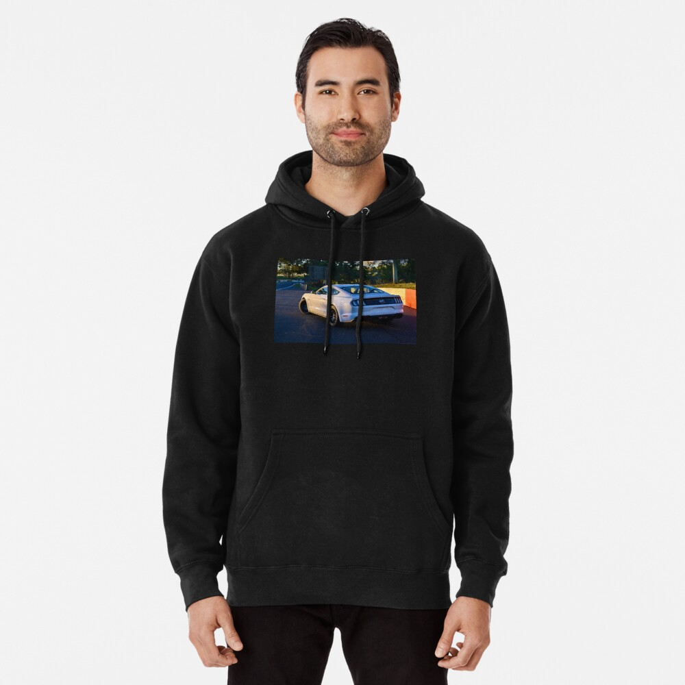 Mustang on Mt Panorama Pullover Hoodie
