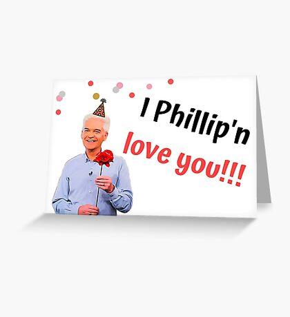 Te amo, Cumpleaños, Aniversario, San Valentín, Madres, Día del padre, Humor, Humor, Banter, Juego de palabras, Regalo, Presente, Ideas, Televisión británica Tarjeta de felicitación