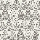 Indische Regentropfen Siena von Sharon Turner