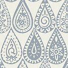 Indische Regentropfen Silber von Sharon Turner