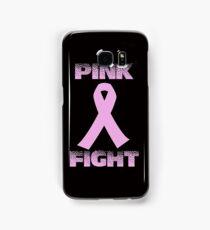 pink fight breast cancer Samsung Galaxy Case/Skin