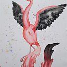 fabulous flamingo by MonsterAtePilot