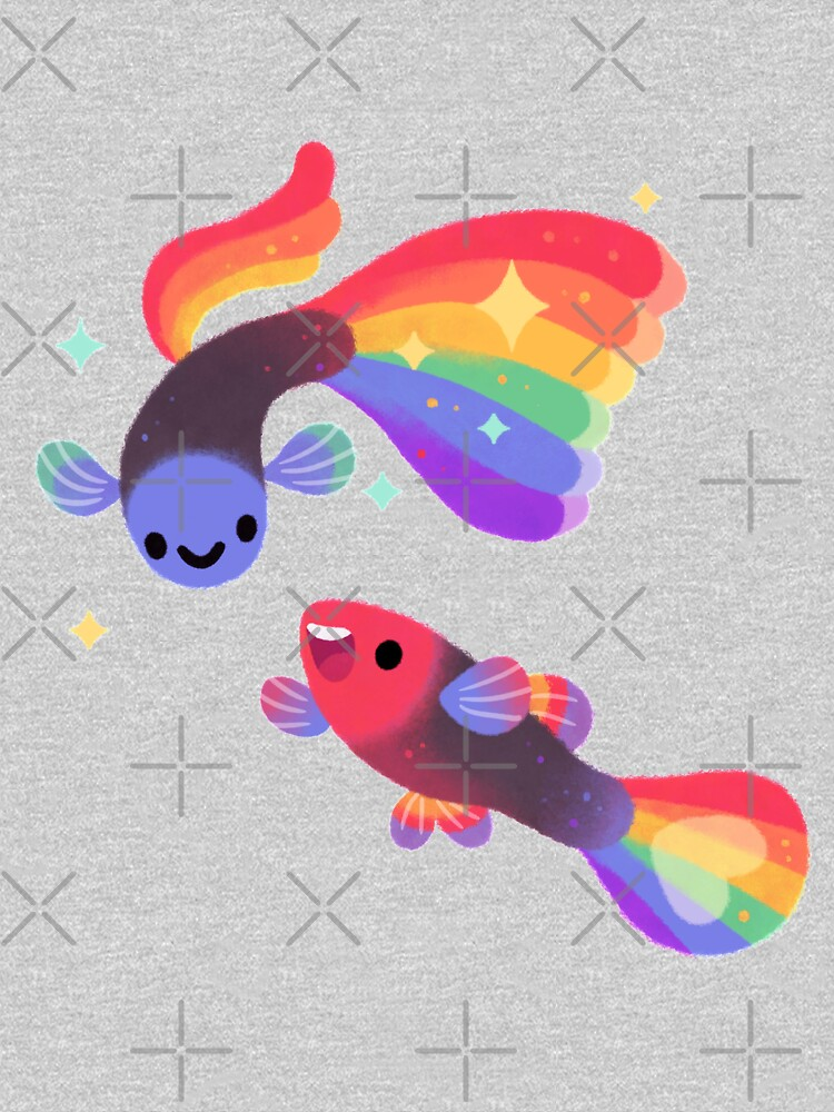 Rainbow guppy 5 by pikaole