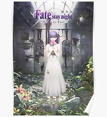 Fate Stay Night - Heaven's Feel Poster