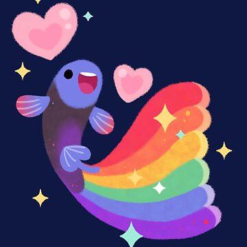 Rainbow guppy 6 by pikaole