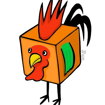 """""""Cube Rooster"""" by chrisvig"""