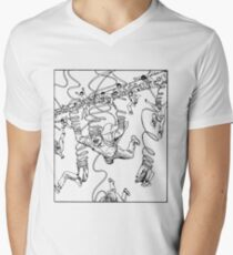 Junji Ito – Unraveled Men's V-Neck T-Shirt