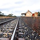 Ben Bullen Railway Station NSW Australia by Bev Woodman