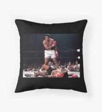 Cojín de suelo Muhammad Ali golpeó brutalmente a Sonny Liston