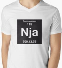 The Element of Surprise Mens V-Neck T-Shirt