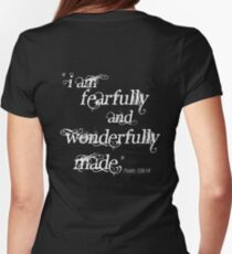 Psalm 139:14 Womens Fitted T-Shirt