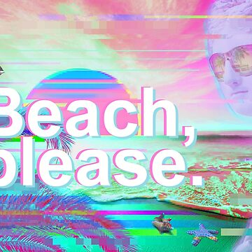 playa por favor vaporwave de FandomizedRose