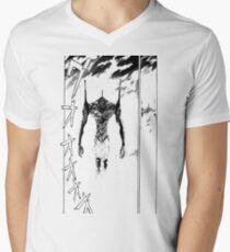 Evangelion – Unit-01 Men's V-Neck T-Shirt