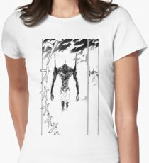 Evangelion – Unit-01 Womens Fitted T-Shirt