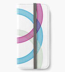 3 Kreise iPhone Flip-Case/Hülle/Skin