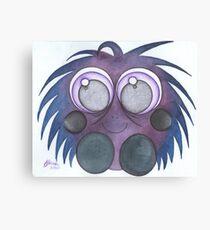 purple fluff Canvas Print