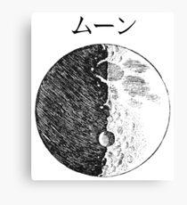 Sketches – Moon Canvas Print