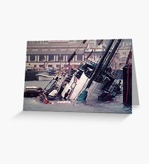 The sinking of the Rainbow Warrior.........thirty years ago ! Greeting Card