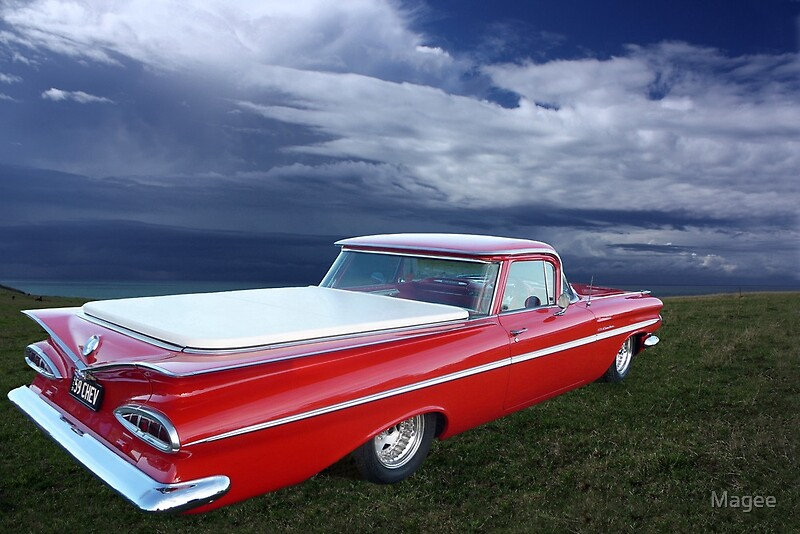 Quot 1959 Chevrolet El Camino Quot By Magee Redbubble
