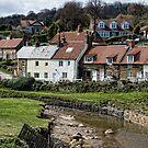Sandsend Village, Yorkshire by Ann Garrett