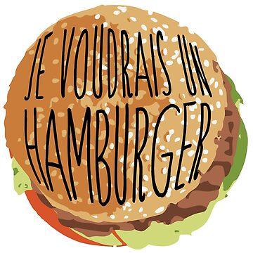 I want a hamburger by imprinting