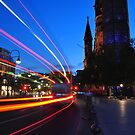 Light Trail by metronomad