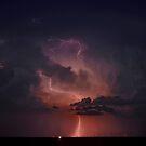 Lightning Cloud over Western Oklahoma by MattGranz