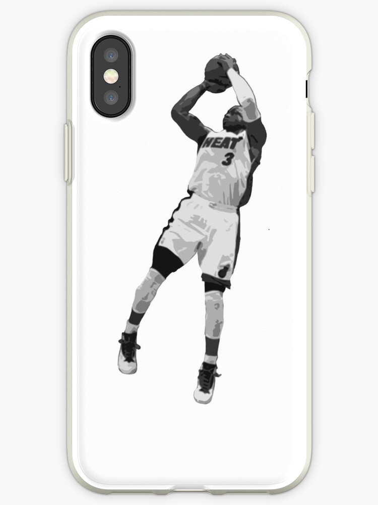 nba wyane wade basketball players dunk phone case for