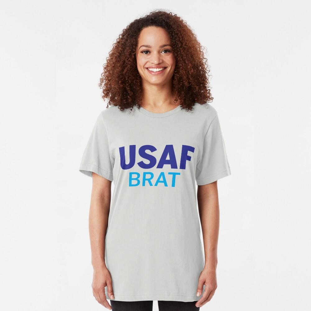 Air Force Brat Blues Slim Fit T-Shirt
