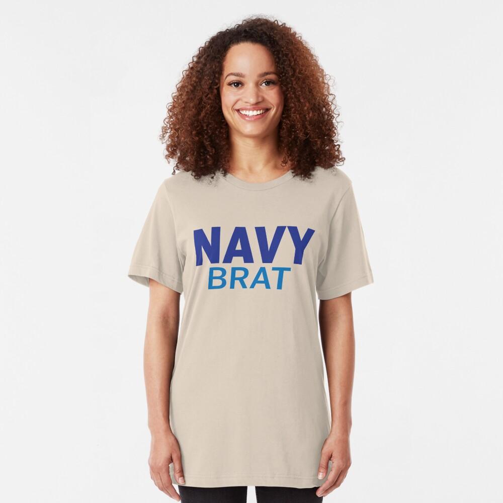 Navy Brat - Blues Slim Fit T-Shirt